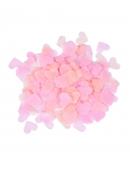 Konfetti mit Herz-Motiv Tischdekoration für Valentinstag rosa 20g
