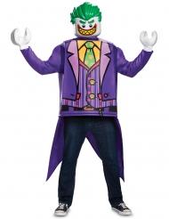 Lego® Joker™ Kostüm für Erwachsene lila-grün