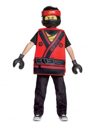 Ninjago™-Kai Lego-Kinderkostüm Karneval rot-gelb