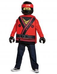 Kai Ninjago™ Kostüm für Kinder Lego® rot