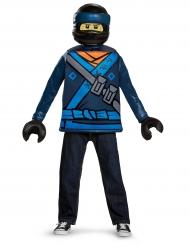 Ninjago™-Jay Lego™-Lizenzkostüm für Kinder Karneval blau