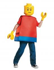 Lego™-Spielfigurkostüm für Kinder Lizenzverkleidung rot-gelb-blau