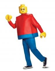 LEGO™-Figur Lizenzkostüm für Erwachsene blau-gelb-rot