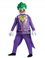 Lego™ Joker-Kostüm für Kinder Lizenz-Verkleidung Halloween lila-grün