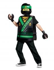 Ninjago™-Lloyd Kinderkostüm Lego™ Lizenz-Verkleidung schwarz-grün-gelb