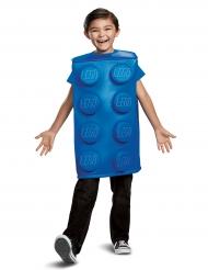 Lego™-Baustein-Lizenzkostüm für Kinder blau