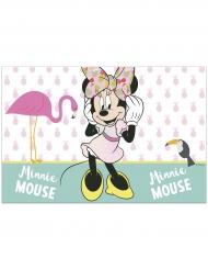 Minnie Maus™-Tischdecke tropische Motive bunt 120x180cm