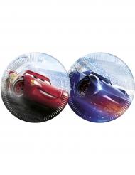 Cars™-Pappteller Lizenzartikel 8 Stück bunt 23cm