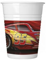 Set aus 8 Cars-3-Pappbechern 200 ml