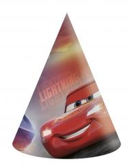 Cars3™-Partyhüte für Kinder Geburtstag 6 Stück bunt