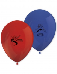 Set aus 8 Latexballons mit Spiderman™-Motiven