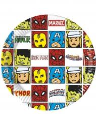 8 AvengersPappteller 20 cm