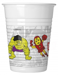 8 Avengers Plastikbecher 200 ml