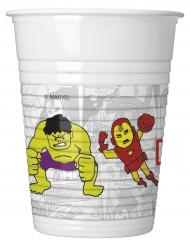 8 Avengers Plastikbecher 200 ml