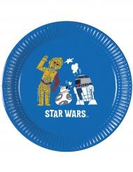 Star Wars Forces™-Pappteller Kindergeburtstag 8 Stück bunt 20cm
