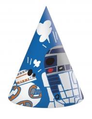 Star Wars™-Kinder Partyhüte Geburtstag 6 Stück bunt