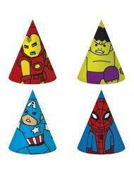 6 Avengers™ Partyhüte