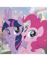 20 Papierservietten Mein kleines Pony 33 x 33 cm Twilight Sparkle Pinkie Pie