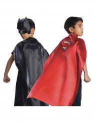 Batman™ Superman™ Umhang zum Wenden für Kinder