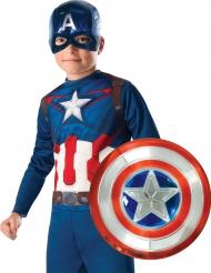 Captain America™-Kostüm-Set für kleine Superhelden blau-rot-weiss