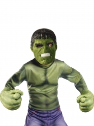 Hulk™-Kostüm-Set Handschuhe und Maske für Kinder grün-schwarz