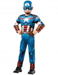 Captain America™ Lizenzkostüm für Kinder Marvel blau