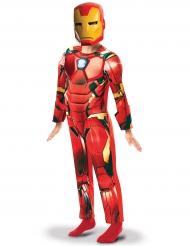 Avengers Iron Man™-Kinderkostüm Superhelden-Anzug rot-gelb