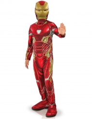 Iron Man Infinity War™-Lizenzkostüm für Kinder rot-gold