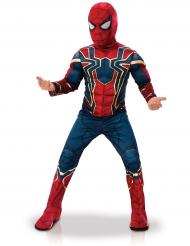 Spiderman™ Iron-Lizenzverkleidung für Kinder rot-blau