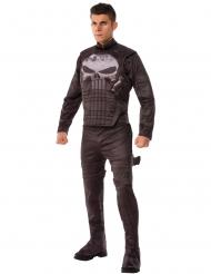 The Punisher™-Lizenzkostüm für Herren Halloween schwarz-grau