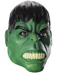 Hulk™-Maske Avengers-Lizenzartikel für Erwachsene grün-schwarz
