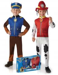 Paw Patrol™-Paarkostüm für Kinder Marshall und Chase bunt