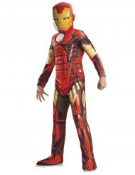 Iron Man™-Kostüm für Kinder Lizenzartikel rot-gelb