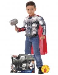 Thor™-Kinderkostüm Lizenzartikel Avengers™ grau-rot