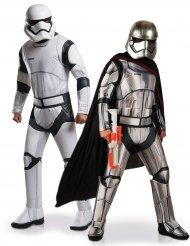 Star Wars™-Paarkostüm für Männer Stormtrooper und Captain Phasma