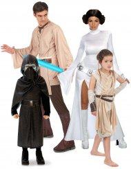 Star Wars™- Gruppenkostüm Lizenzartikel für Familien bunt