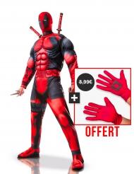 Deadpool™ Kostüm-Set für Erwachsene rot-schwarz