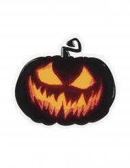 Gruseliges Kürbis Wandbild 45 cm Halloween