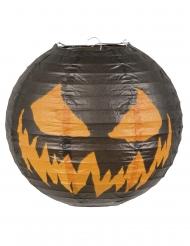 Gruseliger Kürbis-Laterne 25 cm Halloween