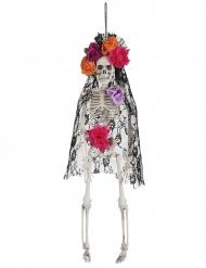 Deko Hängefigur Witwe Dia de los Muertos Halloween
