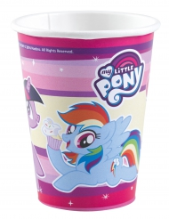 8 My Little Pony Pappbecher 250 ml