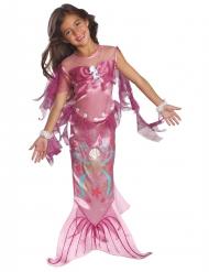 Entzückendes Meerjungfrau-Kostüm für Kinder rosa