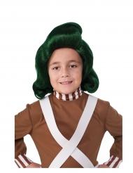 Oompa Loompa™-Perücke aus Charlie und die Schokoladenfabrik für Kinder grün