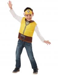 Paw Patrol™-Kinderkostüm Rubble für Kinder braun-gelb