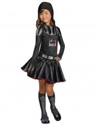 Darth Vader™-Lizenzkostüm für Mädchen Star Wars™ schwarz