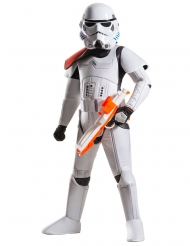 Stormtrooper™-Kinderkostüm Deluxe Star Wars™ Lizenz weiss-schwarz