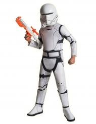 Flametrooper™-Lizenzkostüm Deluxe Star Wars™ für Kinder weiss-schwarz