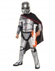 Captain Phasma™-Lizenzkostüm für Kinder Star Wars™ grau-schwarz