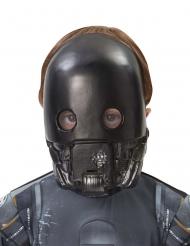 K-2SO™-Lizenzmaske für Kinder Star Wars™ schwarz