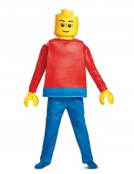Lego™-Männchen Kinderkostüm Lizenzverkleidung blau-gelb-rot